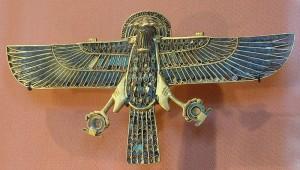 Egipatska zlatna statua